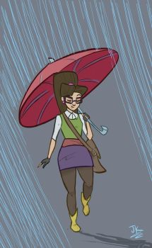 Rain by BadLuckArt