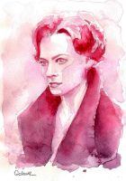 A Study in Watercolor - Irene Adler by Gohush