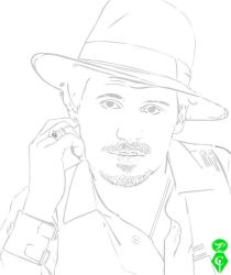 Johnny Depp by cletssimple