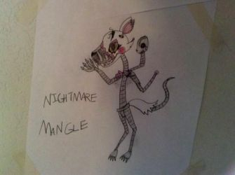 Nightmare Mangle by Aperture-Cat