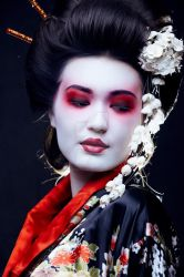 In my World I see Geisha Fx by ArtwithoutabrushFx
