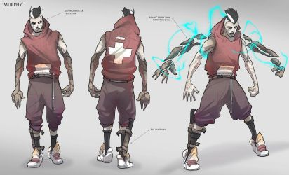 Character Concept / Murphy by BrotherBaston