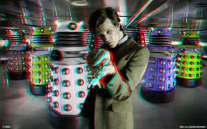 Doctor who 3D by CameronArt