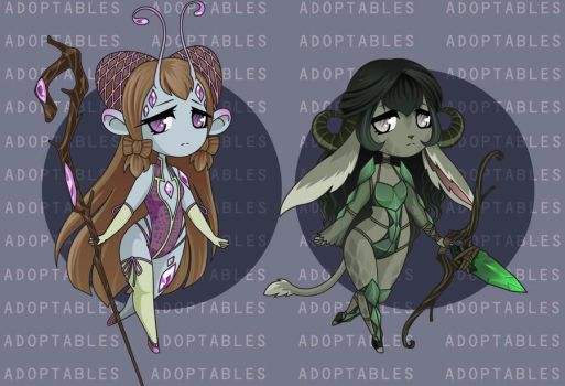 ADOPTABLES : Batch 11 [CLOSED] by PitchBlackcross