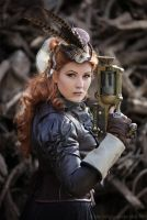Steampunk SUPPORT by MADmoiselleMeli
