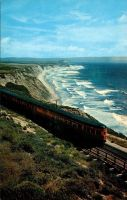Southern Pacific Railroad - Coast Daylight by Yesterdays-Paper