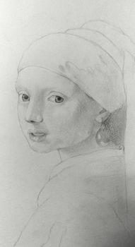 Girl with a Pearl earring by BlazeDev86