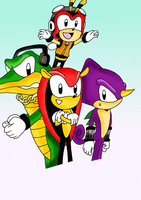 Chaotix by sketchinnegro