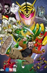 Indy Pop Card - Jason David Frank by wheretheresawil