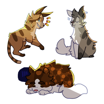 FERAL Stickers by ArcherDetective