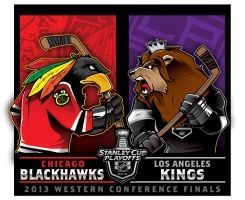 2013 NHL Western Conference Finals... by Epoole88