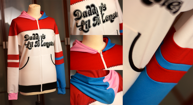 SUICIDE SQUAD: harley quinn hoodie by envylicious