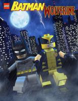 Lego Batman and Wolverine by mikenap22