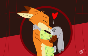 Everybunny Loves Somefoxy by UncleScooter