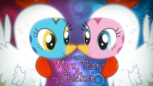 More Than a Chicken song art by Poowis