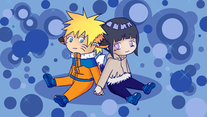 NaruHina Wallpaper by Meje2