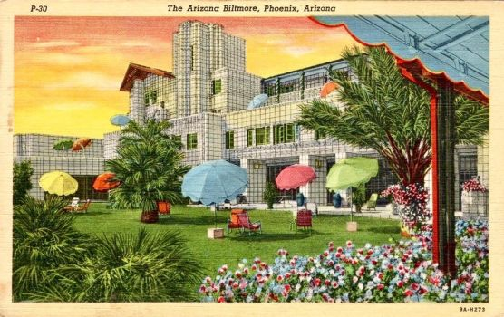 Vintage Arizona - The Biltmore Hotel, Phoenix by Yesterdays-Paper