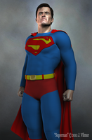 Superman by NVent3d