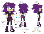 Character Reference - Kirana Sterling by HedgeCatDragonix
