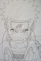 Will Of Fire - Naruto Uzumaki by SakakiTheMastermind