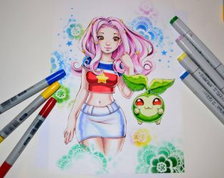 Mimi from Digimon by Lighane