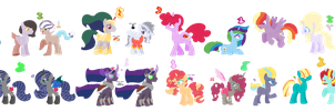 MLP OCs - Many Next Gens by ButtonmashMC