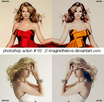 Photoshop Action 003. by imaginethelove