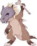 August the Cubone by Tigryph