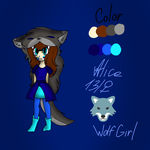 Alice the Wolf Girl by astya45