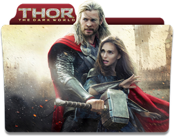 Thor The Dark World Folder Icon by jesusofsuburbiaTR