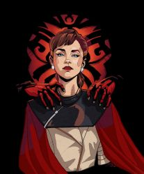 *SPOILER*  Qi'ra and Darth Maul by djinn-world