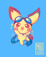 Pichu Key Charm Design by MEISerenade