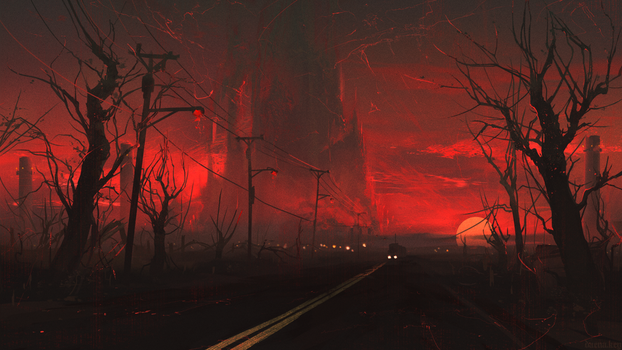 the road by Dae-K