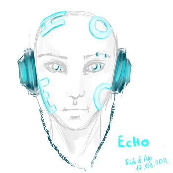 Red_Apple: ECHO by N-the-human