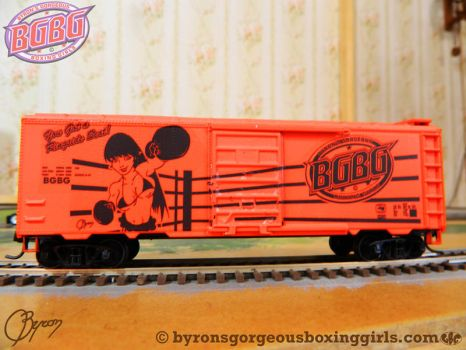 BGBG railroad box car by ByronUgalde
