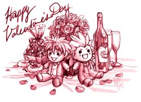ARR - For Roxas :Happy V-day: by Nijuuni
