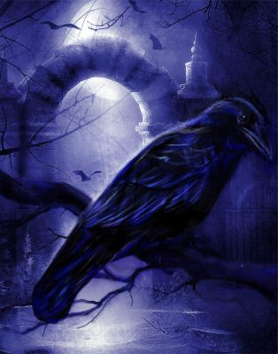 Crow 2 by Audrey-Dugan-Art