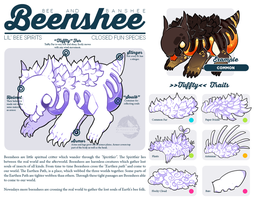 [P] Fun species: Beenshees by KngCorvidae