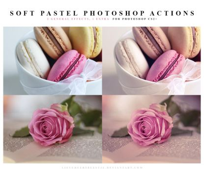 Photoshop Soft pastel Actions by meganjoy