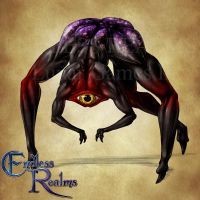 Endless Realms bestiary - Crawler by jocarra