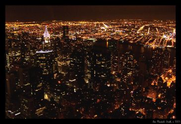 New York At Night by nebheadian