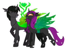 Request: Love is Green and Delicious by ForeshadowART