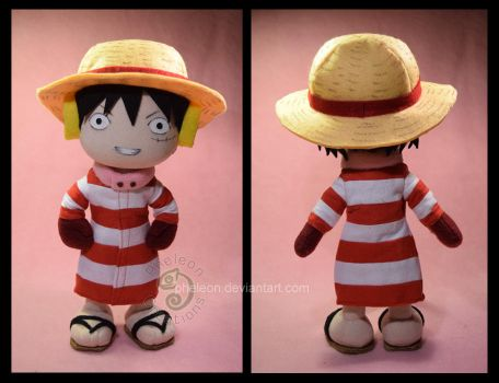Winter Luffy by pheleon