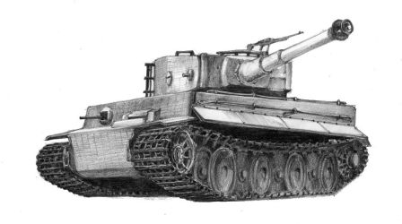 Tiger Tank by micorl