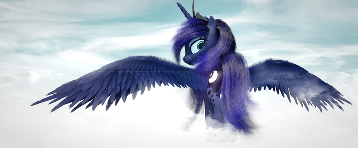 Princess Luna by TheLunaGames