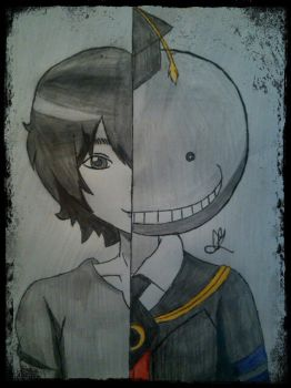 The real face of Koro-sensei by Ziva-Daiban