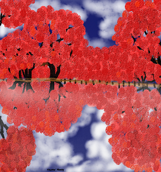 Red Landscape by Sharee-Dilettante