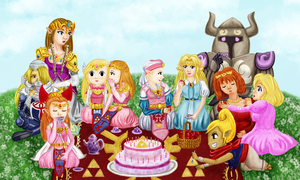 Zelda: 25 Years Young by SolitaryZero