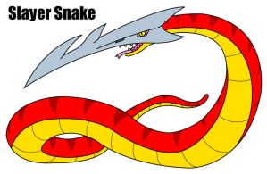 Slayer Snake by KingMonster