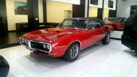 1967 Pontiac Firebird by haseeb312